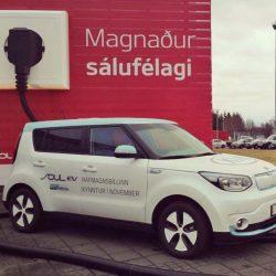 El 25% de los coches que se venden en Islandia son eléctricos