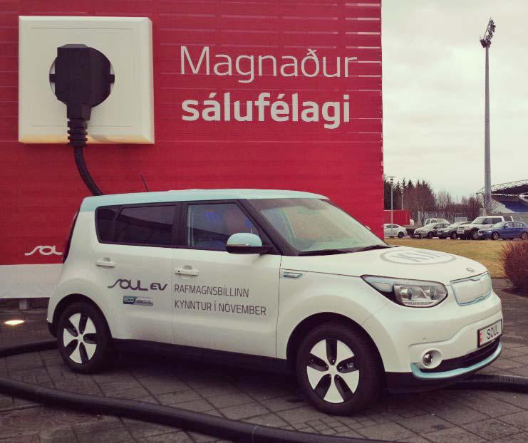 coches eléctricos islandia