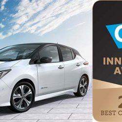 El nuevo Nissan LEAF recibe su primer premio internacional