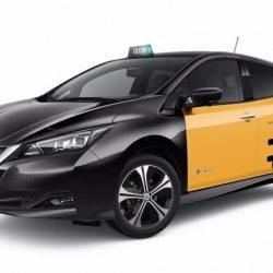 Nissan presenta su nuevo LEAF en la Feria del Taxi de Barcelona