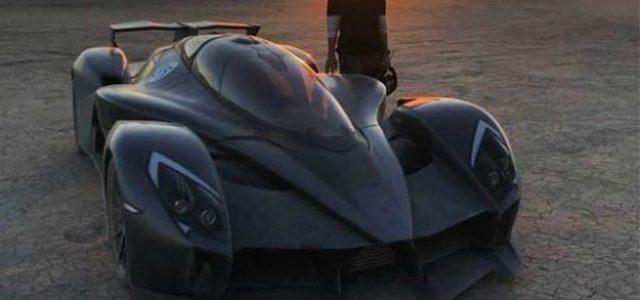 Tachyon Speed. El hiperdeportivo eléctrico de E.ON dotado de seis motores y 1.250 CV de potencia