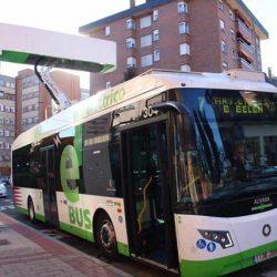 Vectia pone en marcha la primera línea de autobuses eléctricos de España