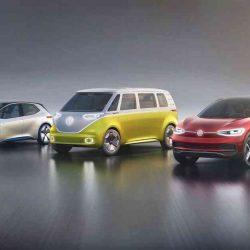 Con motivo del Salón del automóvil de Los Ángeles, por primera vez juntos el Volkswagen ID, el ID Crozz y el ID Buzz