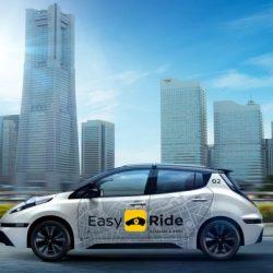 Nissan revela su nuevo taxi autónomo basado en el LEAF