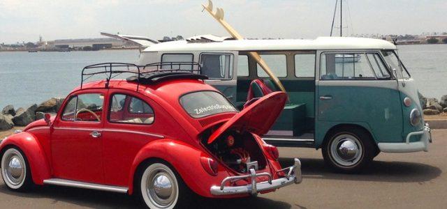 Algunos coches clásicos reconvertidos a eléctricos