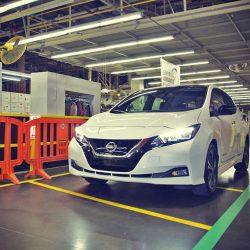 Nissan inicia la producción del nuevo LEAF en Estados Unidos, con unas primeras entregas para el mes de enero. ¿Y qué pasa con Europa?