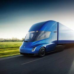 Tesla quiere fabricar 100.000 unidades anuales del Semi, su camión eléctrico