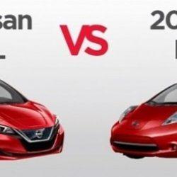Infografía: Cómo ha evolucionado el Nissan LEAF (2011-2018)