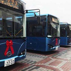 BYD planta la bandera de los autobuses eléctricos en Japón, la tierra del hidrógeno