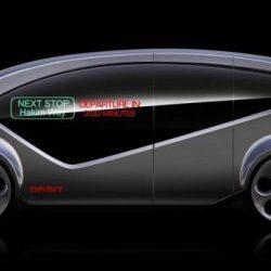 Fisker Orbit, una lanzadera para transporte público eléctrico y autónomo