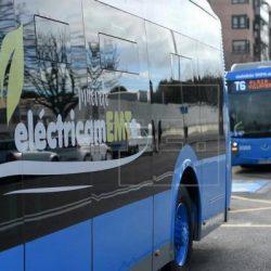 La EMT de Madrid inaugura la primera línea con carga por inducción para autobuses eléctricos