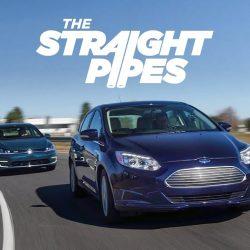 Volkswagen e-Golf contra Ford Focus Electric: los compactos transformados en coches eléctricos se enfrentan (Vídeo)