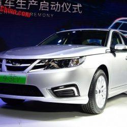 Comienza la producción del NEVS 9-3 en China