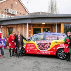 Papá Noel cambia su trineo por un Renault ZOE en Reino Unido