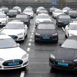 Se está renovando la flota de taxis Tesla Model S en Amsterdam. Decenas de unidades a la venta con precios muy atractivos