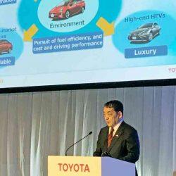 Toyota invertirá 10.000 millones de dólares para acelerar su programa de coches eléctricos