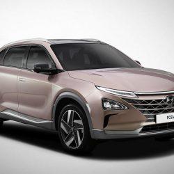 Hyundai presenta su FCEV. Un SUV sin nombre alimentado por una pila de combustible de hidrógeno