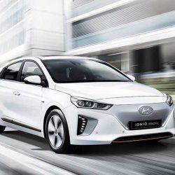 El Hyundai IONIQ eléctrico recibirá una actualización este año. Más batería, más potencia