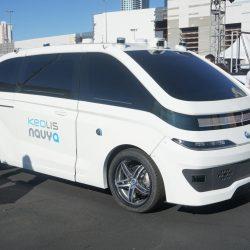 Navya muestra su taxi autónomo de nivel 5 en el CES de Las Vegas