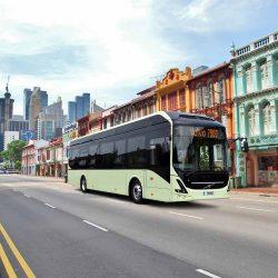 ABB y Volvo impulsarán el proyecto de autobuses eléctricos y autónomos de Singapur