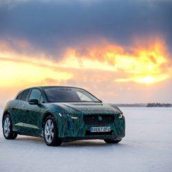 El Jaguar I-Pace de pruebas en la nieve. Presentación el 1 de marzo, se confirma la carga a 100 kW (Vídeo)