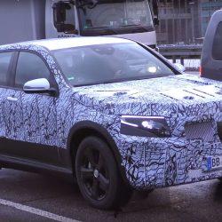 Avistado de nuevo el Mercedes EQC durante unas pruebas (vídeo)