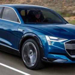 Presentación en Noruega del Audi etron. El todocamino eléctrico que llegará este año al mercado