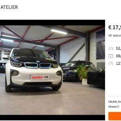 La fuerte depreciación del BMW i3 empieza a crear un mercado de ocasión muy interesante