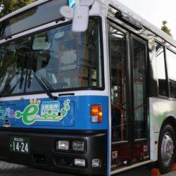 Un autobús eléctrico con tres motores y tres baterías del Nissan LEAF