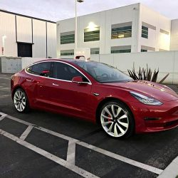 Avistado el primer Tesla Model 3 Dual Motors Performance
