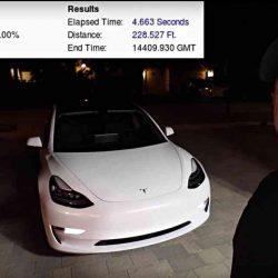 ¿Está Tesla minimizando también los datos de aceleración del Model 3?