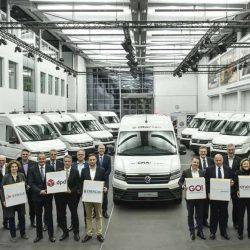Primeras entregas de la furgoneta eléctrica Volkswagen e-Crafter