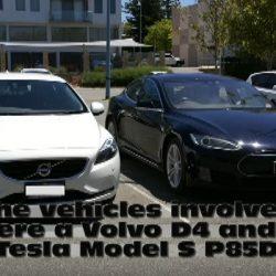 Un Tesla Model S cargado con un generador diésel consume menos que un Volvo V40