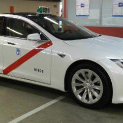 El Tesla Model S es homologado como taxi en Madrid