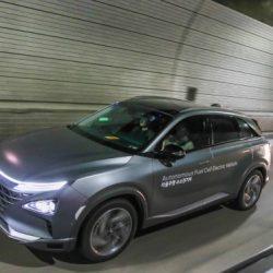 Hyundai muestra sus primeros coches de pila de combustible con conducción autónoma de nivel 4