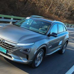 Primeras pruebas del Hyundai Nexo con pila de combustible de hidrógeno