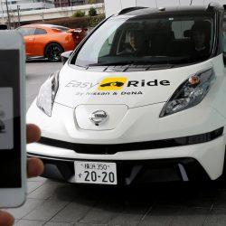 Nissan dará el pistoletazo de salida a su servicio de taxis autónomos Easy Ride en marzo