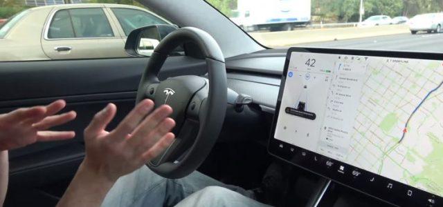 El Tesla Model 3 es incluido en el programa de recogida de vídeos para la base de datos del Autopilot