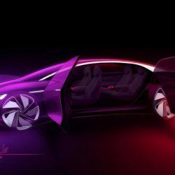 Volkswagen nos muestra un adelanto del I.D. Vizzion. Una berlina eléctrica, autónoma y con batería de 111 kWh