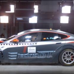 El Tesla Model S P100D de Electric GT logra la homologación de la FIA