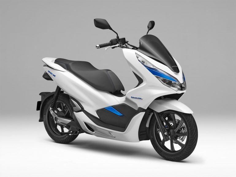 93c34b8c3e4 Honda prueba una PCX eléctrica con batería extraible ...