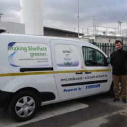 La ciudad de Sheffield cambiará su flota municipal por vehículos con pila de combustible de hidrógeno