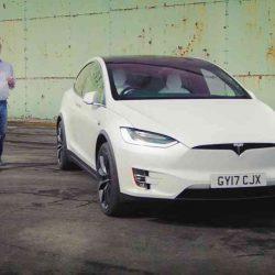 Jeremy Clarkson prueba el Tesla Model X en The Grand Tour