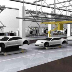 Porsche empieza a producir los primeros prototipos del Mission E. Su primer coche eléctrico que llegará en 2019