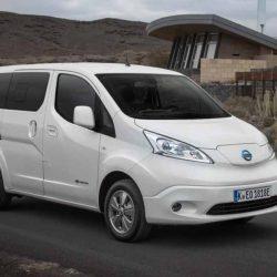 Precios de la nueva Nissan e-NV200 Evalia de 40 kWh. Desde 38.500 euros con versión de 5 y 7 plazas