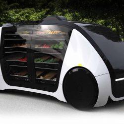Robomart, el vehículo autónomo que repartirá comida a domicilio directamente desde el supermercado