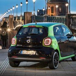 En regiones como Stuttgart, el 40% de los Smart vendidos ya son eléctricos