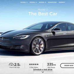 Tesla cambia su web para modernizar la imagen, y confirma una pequeña subida de precio de los vehículos
