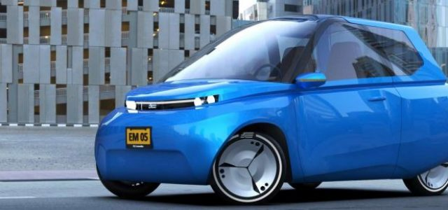 Noah, el coche eléctrico diseñado por estudiantes basado en los principios de la economía circular