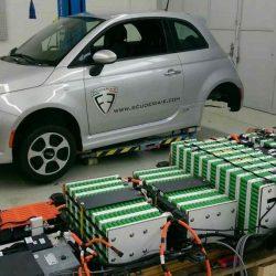 Actualización del proyecto del Scuderia-e. Un FIAT 500e con 56 kWh y cargador de 150 kW